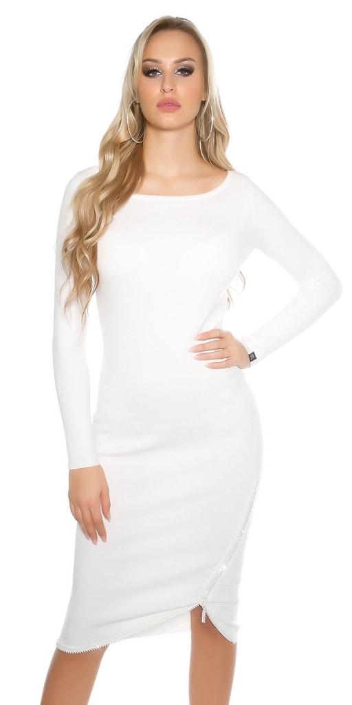 Koucla Pletené dámské šaty - II. jakost