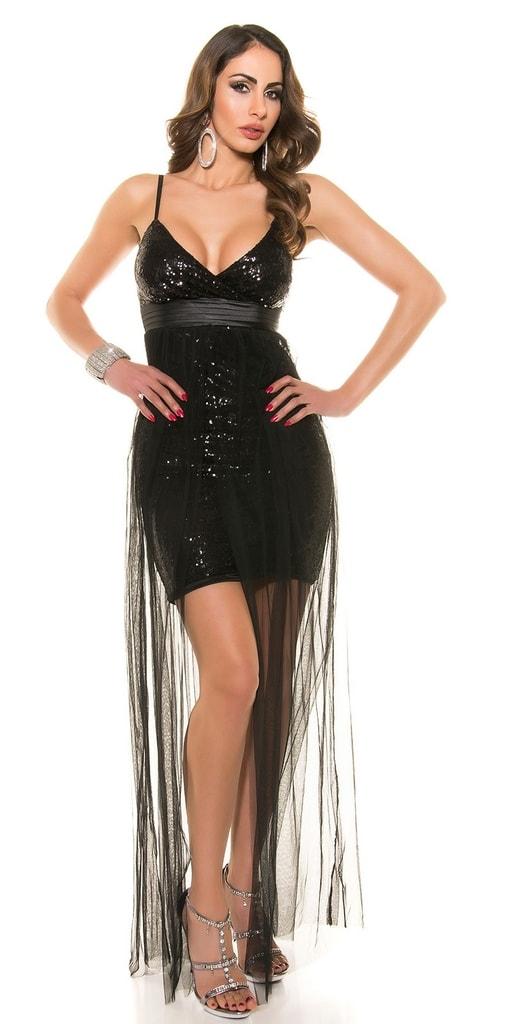 Koucla Společenské šaty černé