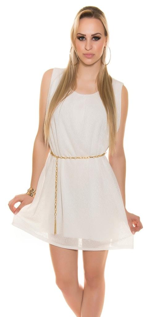 Koucla Letní šaty s páskem