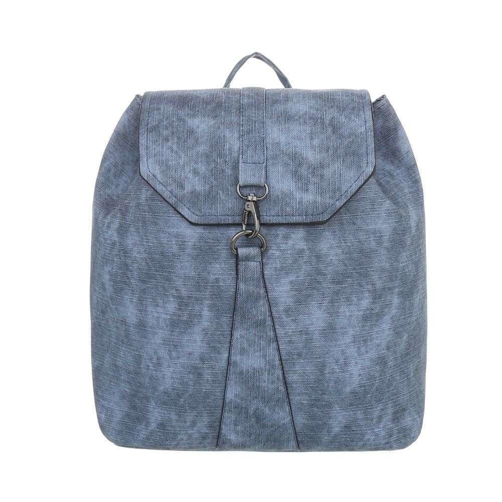 Dámský modrý batoh a623c741e4