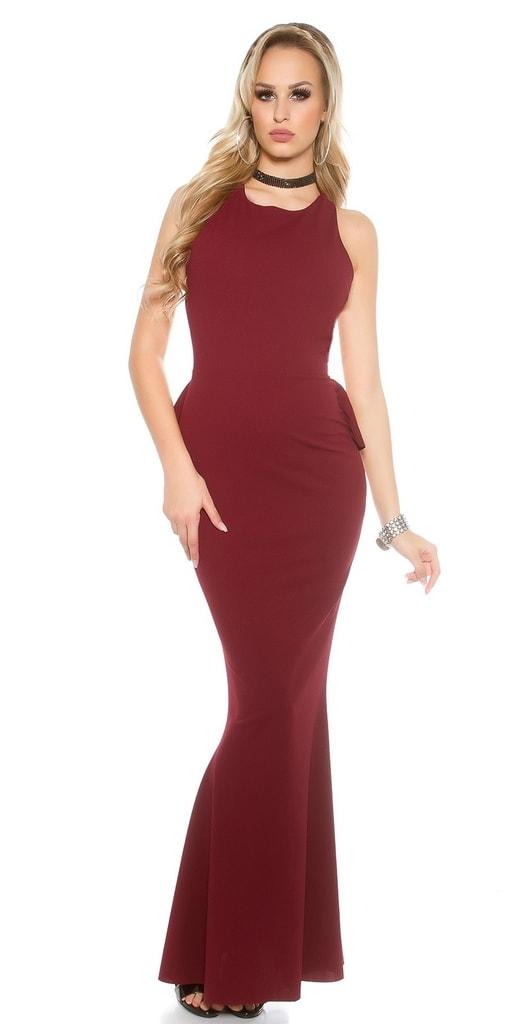 Koucla Dlouhé dámské společenské šaty
