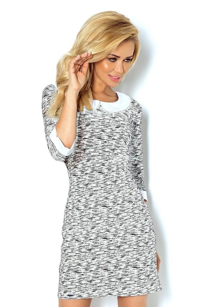Numoco Šaty s límečkem