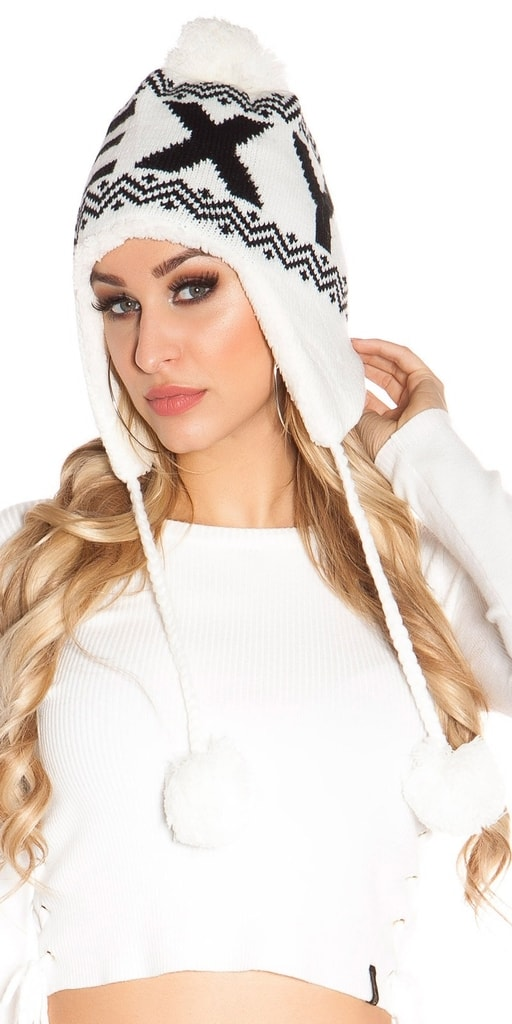 Koucla Dámská zimní čepice