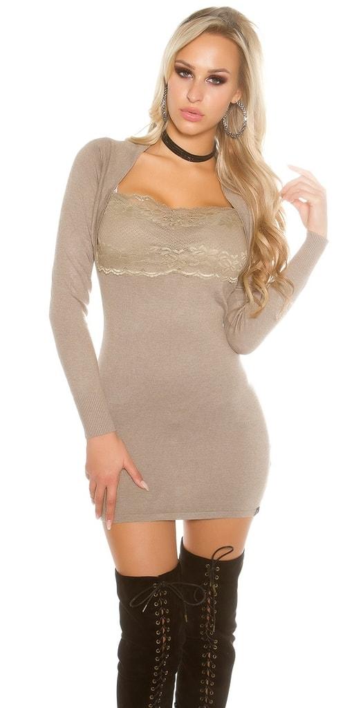 Koucla Mini úpletové šaty