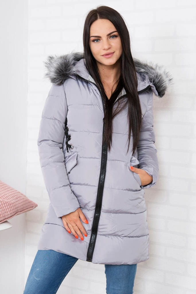 Kesi Dlouhá zimní bunda