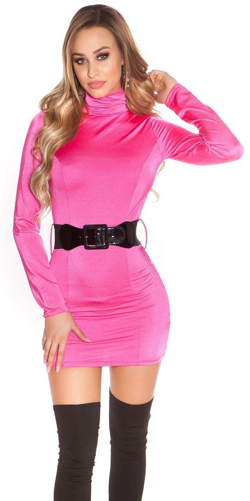 Koucla Dámské mini šaty s páskem