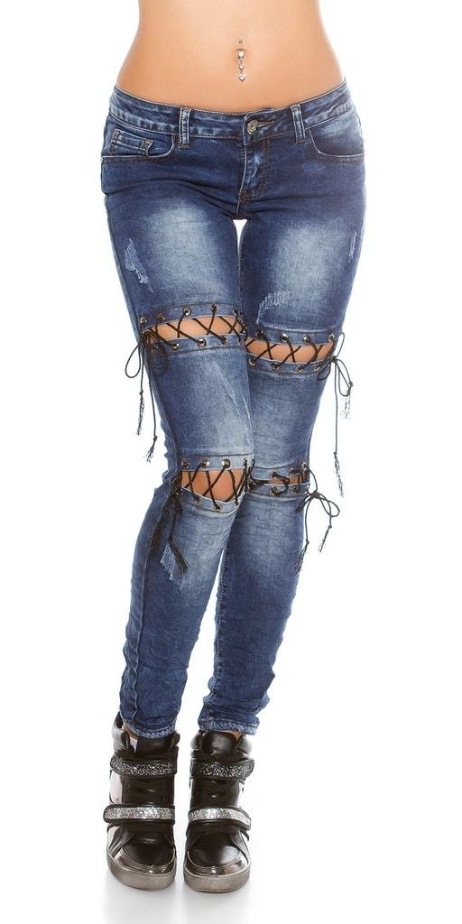 Koucla Dámské skinny džíny