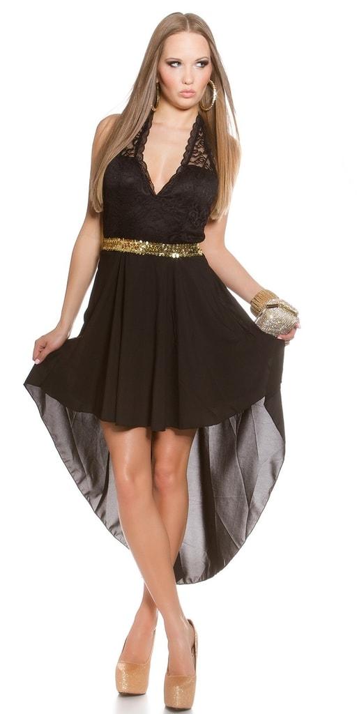 Koucla Šaty na ples - černé