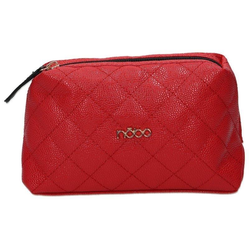 NOBO Červená kosmetická taška