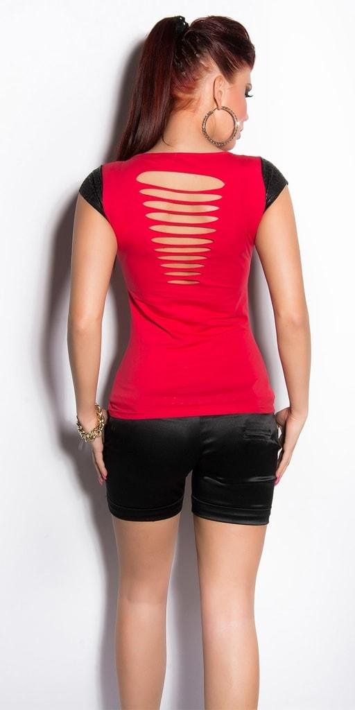 Koucla Červené tričko dámské
