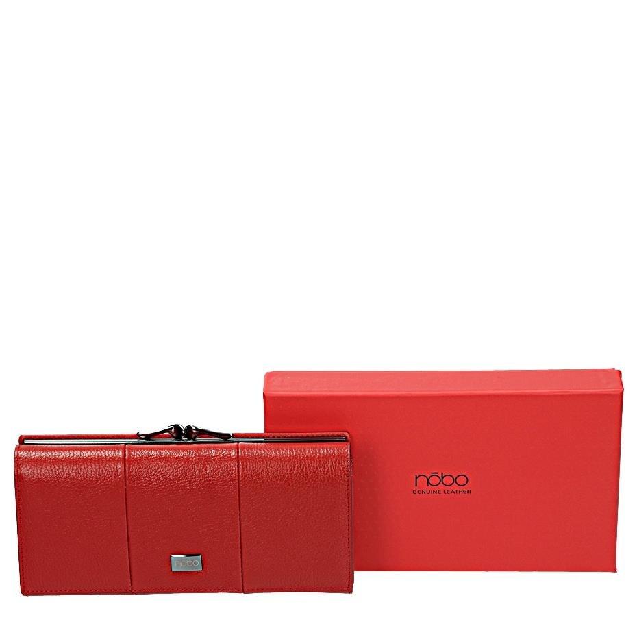 NOBO Červená dámská peněženka