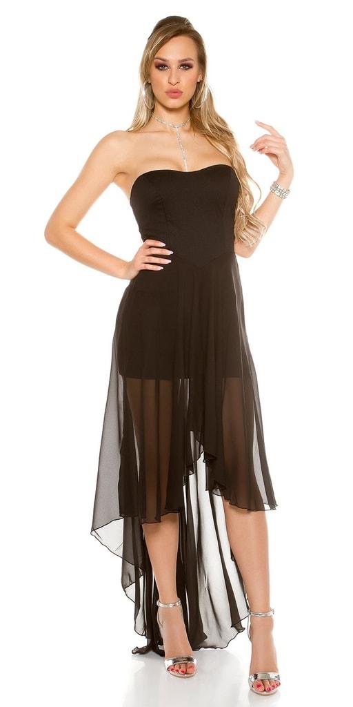 Koucla Plesové černé šaty