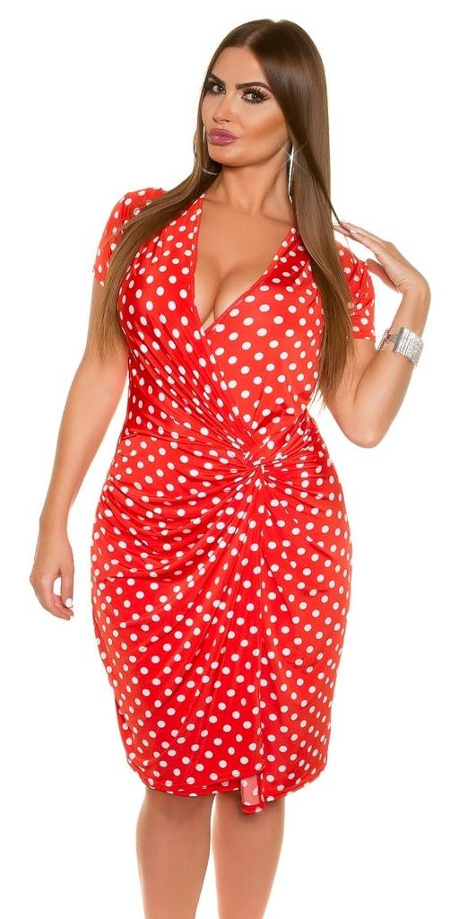 Koucla Letní šaty s puntíky