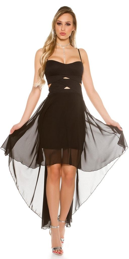 Koucla Černé plesové šaty