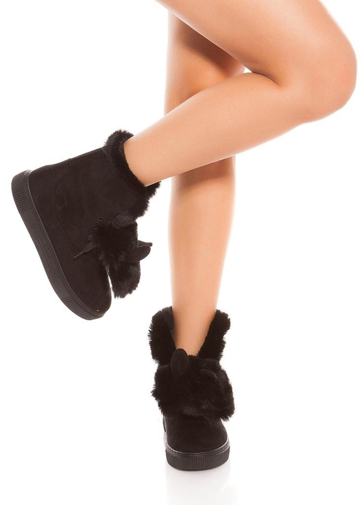 Koucla Zimní kotníkové boty