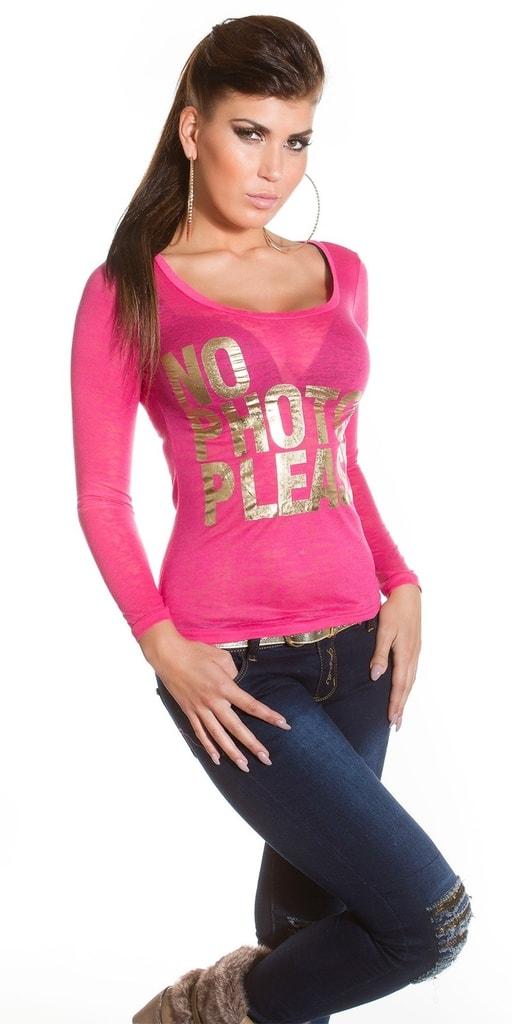Koucla Dámské tričko s nápisem