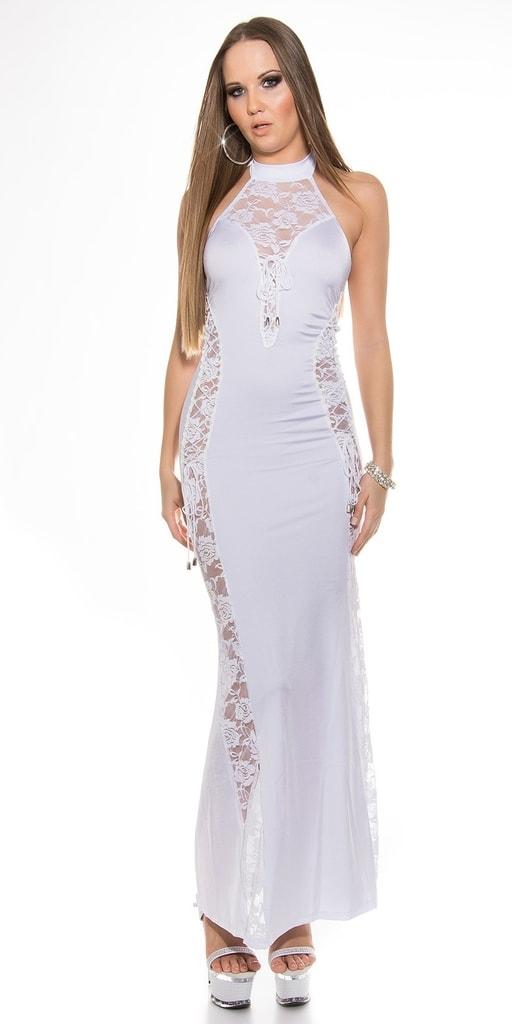 Koucla Bílé dlouhé šaty - II. jakost