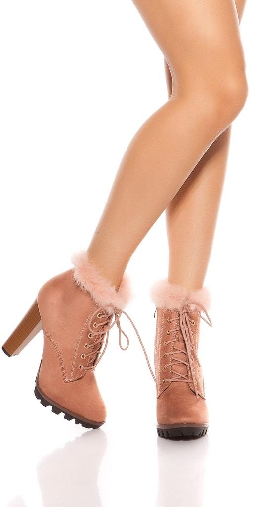 Koucla Kotníkové dámské boty