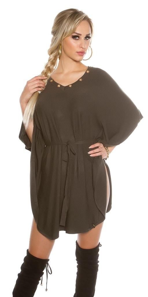 Koucla Dámské šaty z úpletu