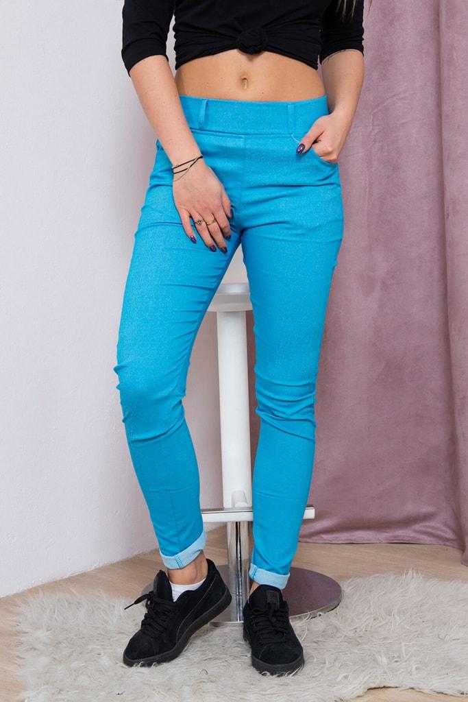 Kesi Dámské slim kalhoty