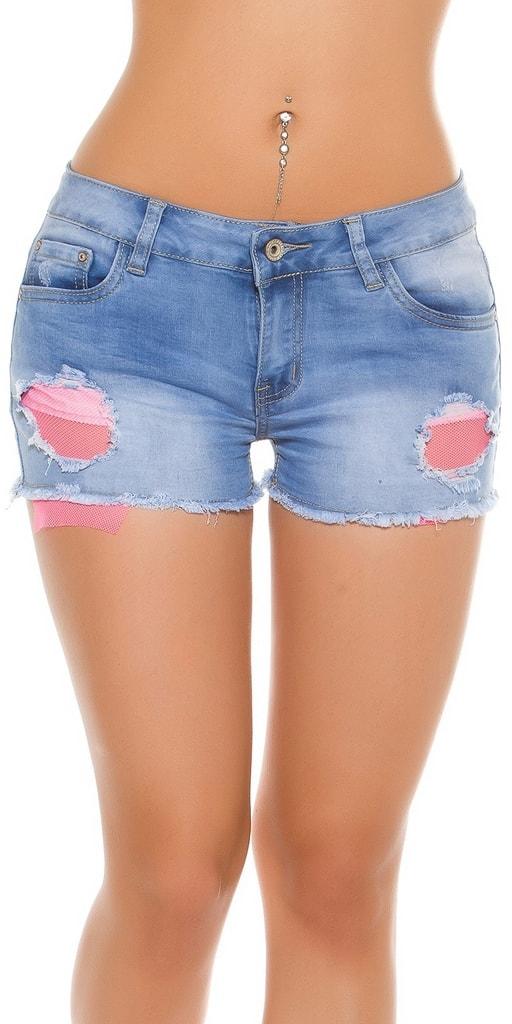 Koucla Dámské jeans kraťasy