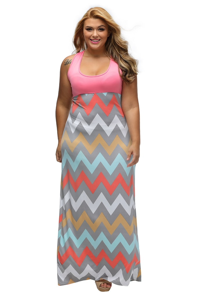 DAMSON Letní šaty XXL