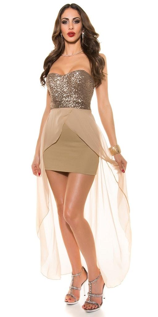 Koucla Krátké plesové šaty