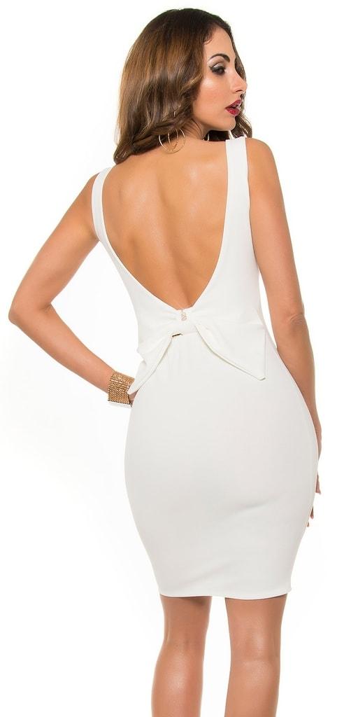 Koucla Večerní šaty s holými zády