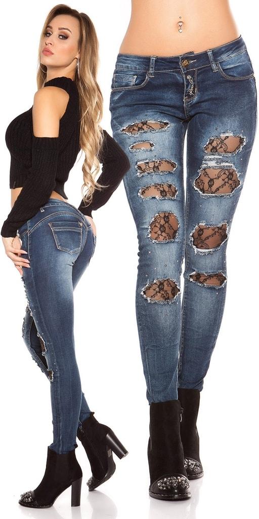 Koucla Dámské úzké džíny