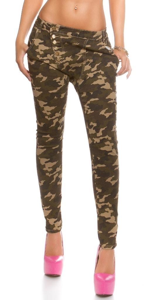 Koucla Army džíny dámské