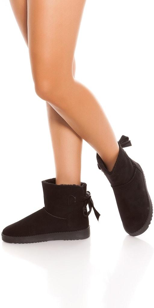 Koucla Dámské kotníkové zimní boty
