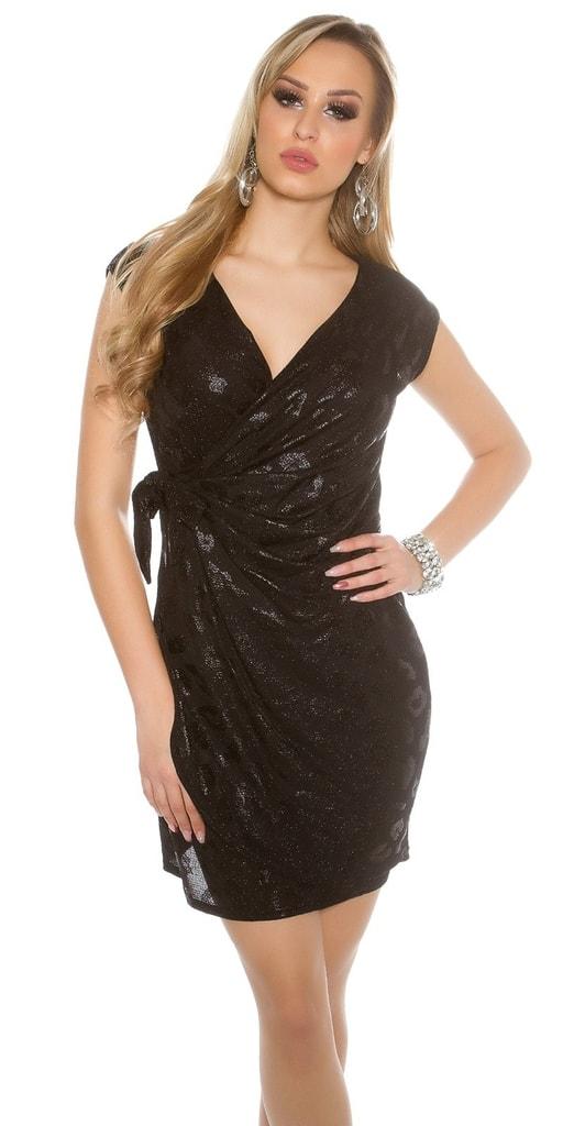 Koucla Černé párty šaty