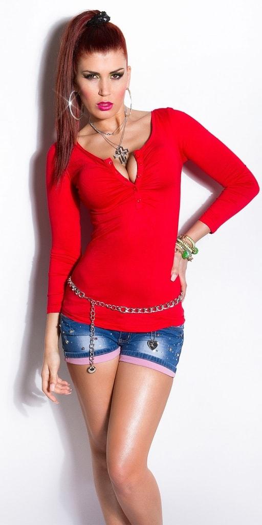 Koucla Červené dámské tričko
