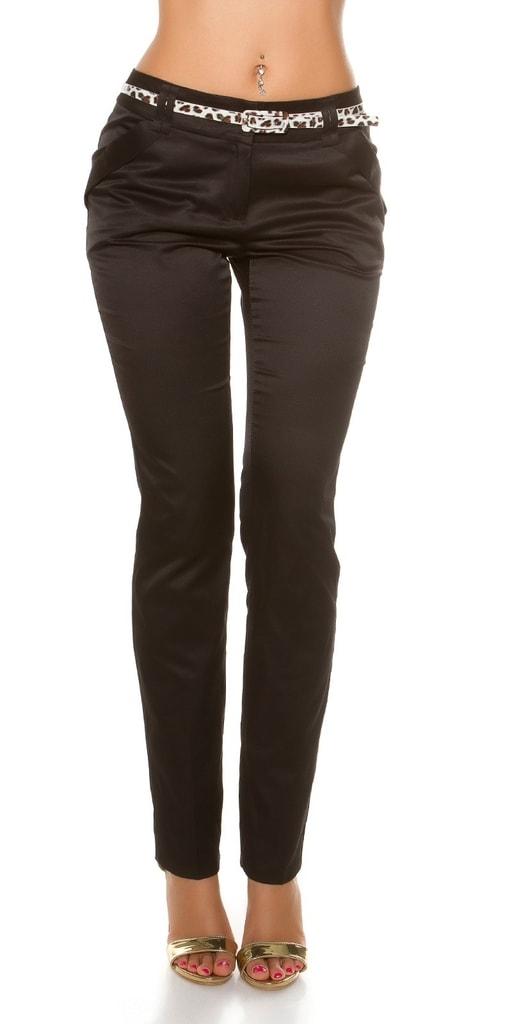 Koucla Elegantní kalhoty s páskem