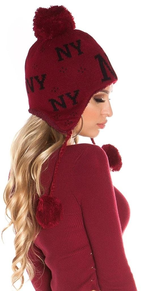 Koucla Zimní dámská čepice