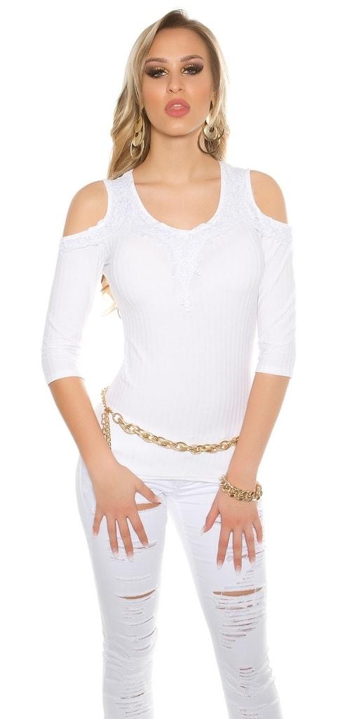 Koucla Úpletové dámské tričko