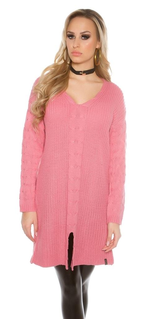 Koucla Růžový svetr