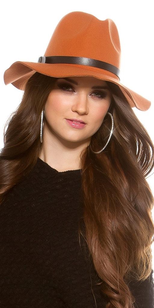 Koucla Plstěný dámský klobouk