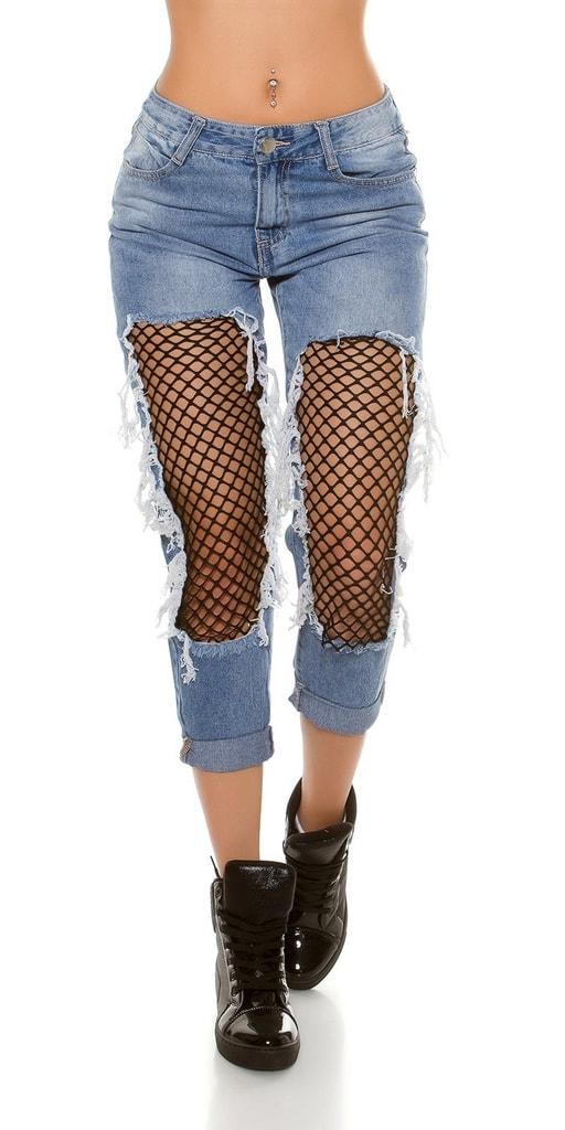 Koucla Dámské trendy džíny
