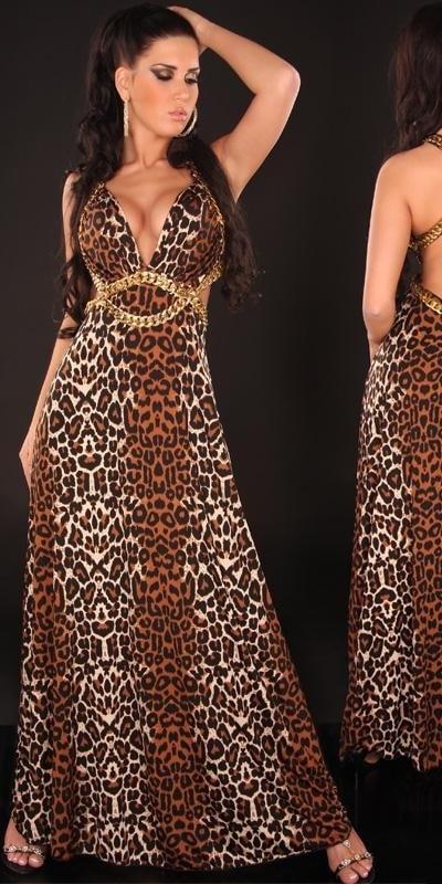 Dlouhé šaty dámské