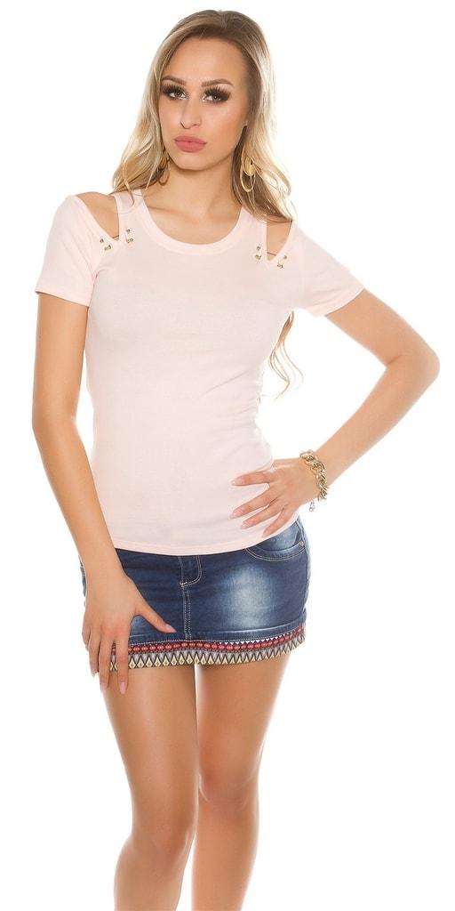 Koucla Dívčí růžové tričko