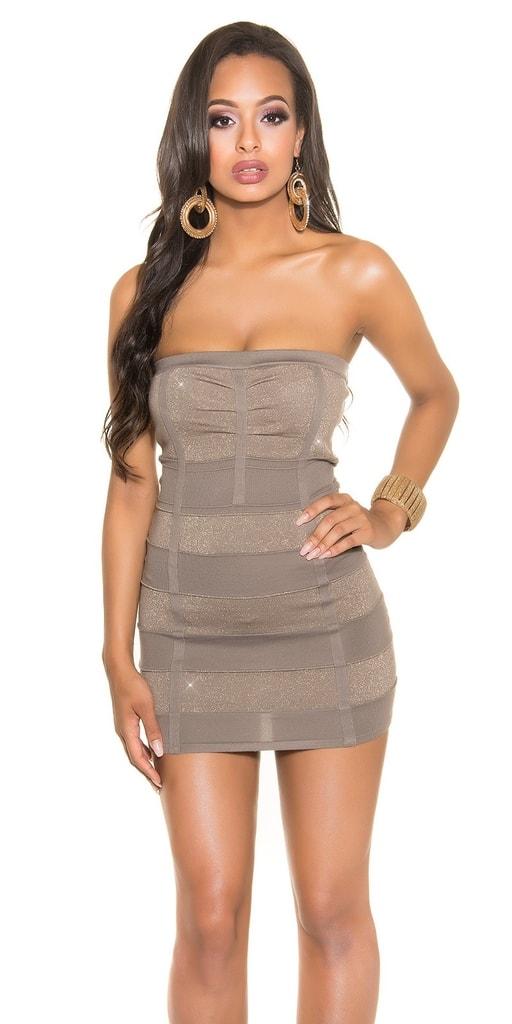 Koucla Společenské dámské mini šaty