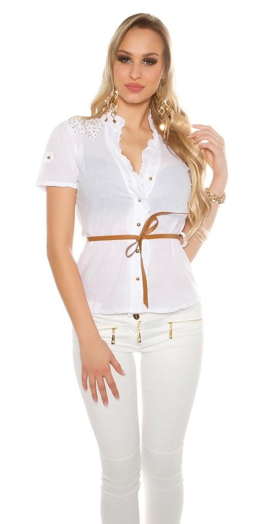 Koucla Dámské košile s páskem