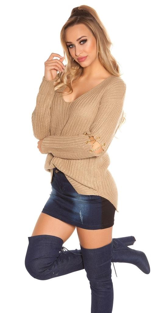 Koucla Dámské pletené pulovry