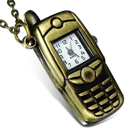 DAMSON Originální hodinky s řetízkem