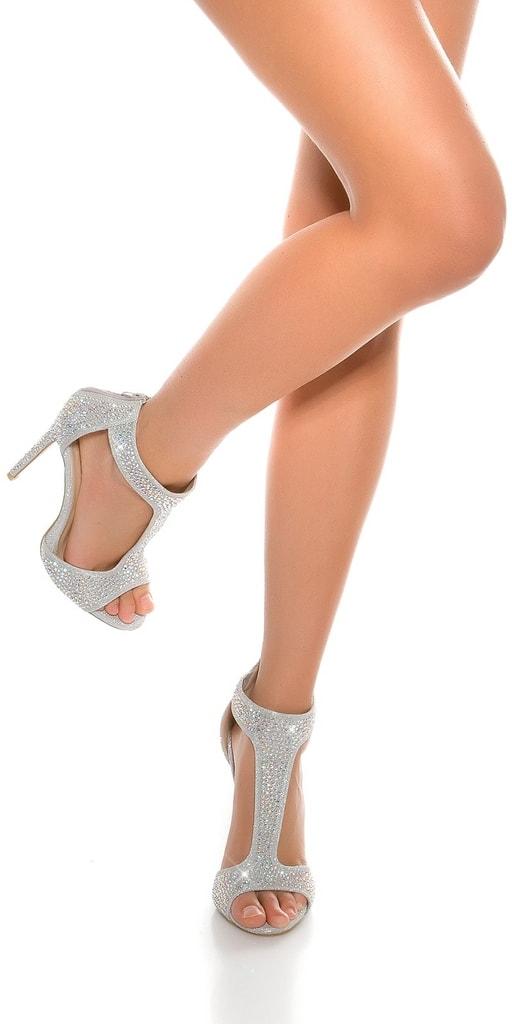 Koucla Dámské elegantní sandálky