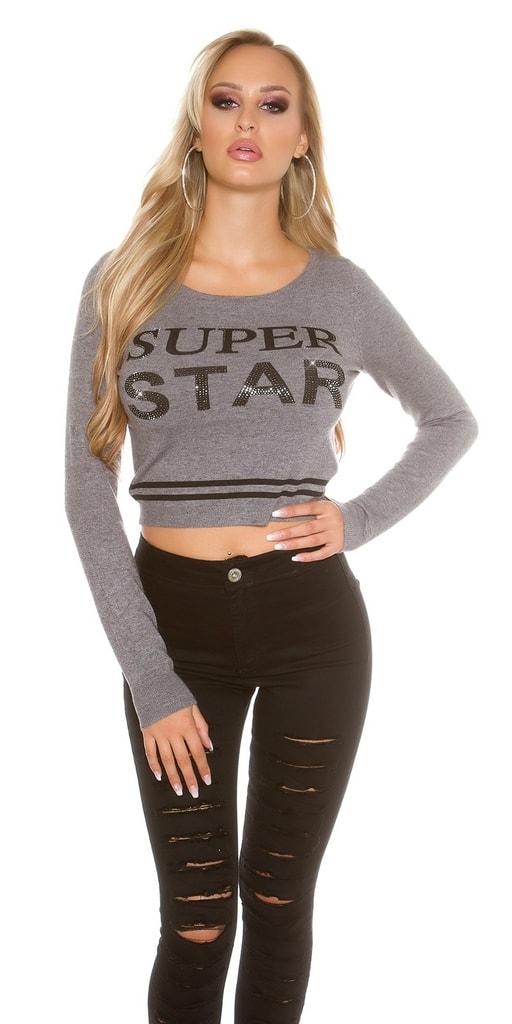 Koucla Krátké dámské pulovry