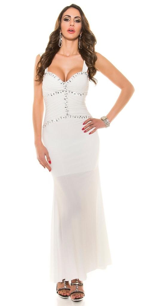 Koucla Plesové dámské šaty dlouhé