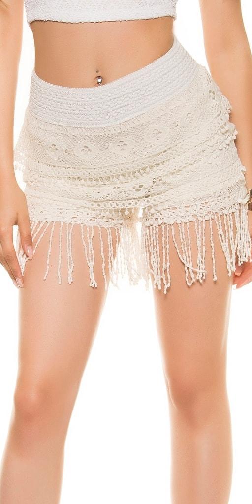 Koucla Háčkované dámské šortky