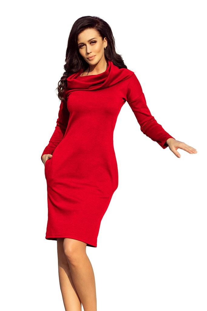 Numoco Dámské šaty s rolákem